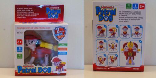 Marshall PAW PATROL HUND PATROL transformers Spielfiguren figuren Roboter NEU