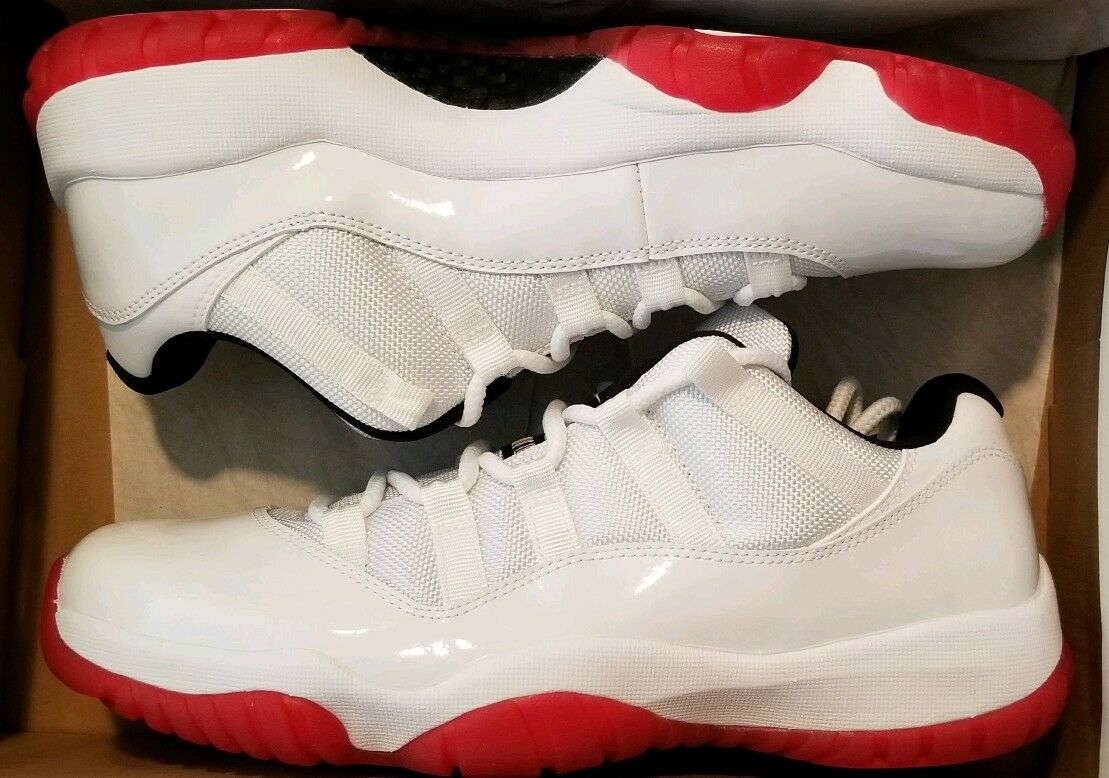 2012 Jordan 11 Retro Low White Red 10 Cherry bred barons cool grey concord gold