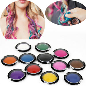 12-Colors-Non-toxic-Temporary-Hair-Chalk-Soft-Dye-Powder-Pastels-Tools-Salon-DIY