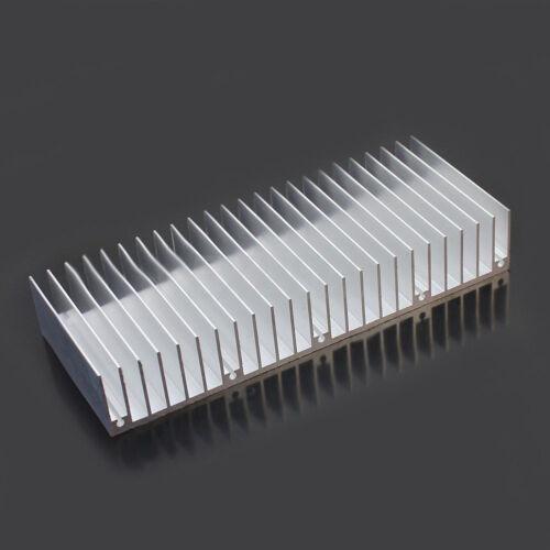 Alluminio Heizkörper Raffreddamento LED Power Chip IC Transistor 60x150x25mm BAF