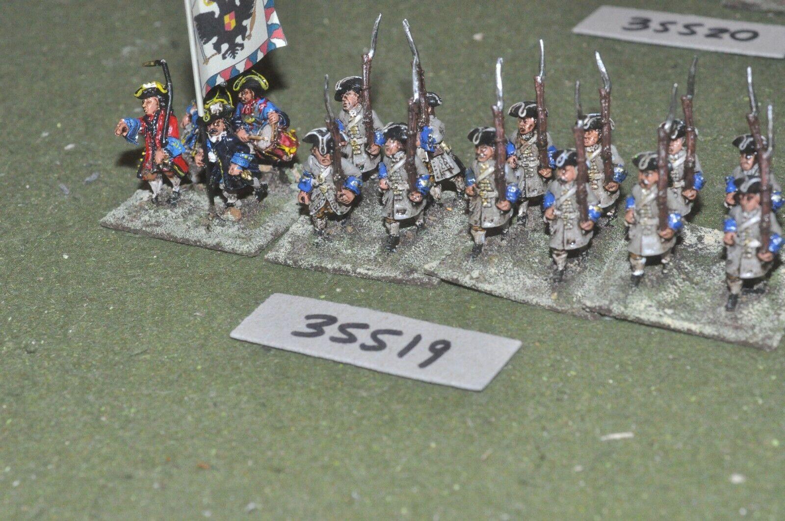 25mm marlburian Austria-Regimiento 16 figuras-INF (35519)