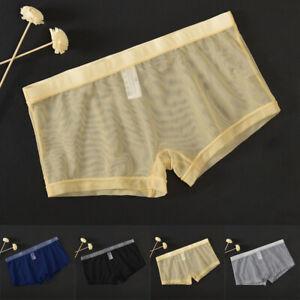 Shorts Slip Transparent Badehose Unterhose Boxershorts Unterhose Schlüpfer