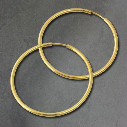 SilberDream Creolen 40mm Ohrring 333 Gelbgold 8 Karat Simply Echt Gold GDO0004Y