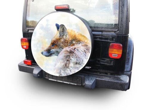Fuchs reserveradabdeckung encaja toyota suzuki mitsubishi hyundai honda nissan