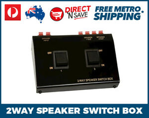 STUDIO-ACOUSTICS-2-Way-Stereo-Speaker-Switch-100W-Home-Audio-SA102SW