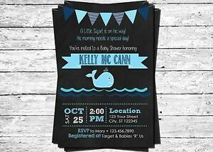 Little squirt blue whale printed chalkboard baby shower invitation image is loading little squirt blue whale printed chalkboard baby shower filmwisefo Gallery