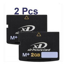 2X 2GB XD Picture Card Memory Card Type M+ New  For FUJIFILM Olympus