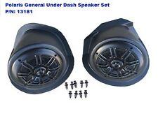 P//N 13181 No Spe Polaris General Under-Dash Speaker Pods Speakers Not Included