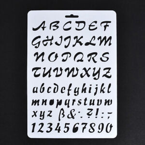Lettering-Stencils-Letter-and-Number-Stencil-Painting-Paper-Craft-Alphabet-Y3