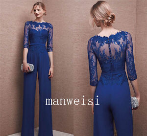 Wedding Formal Custom Mother Of the Bride Jumpsuits Navy ...