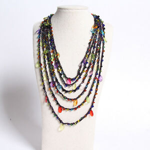 NEW-Rero-Bohemia-Multilayer-Necklace-Pendant-Long-Sweater-Charms-Chain-XP0044