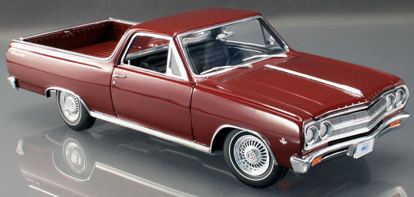 1965 Chevelle Maroon 1 18 ACME