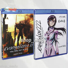 Paq. Evangelion 1.11 & Evangelion 2.22  - 2 Blu-ray ESPAÑOL LATINO Region Free
