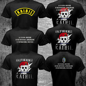 New Guatemala Army Special Force Kaibil Kaibiles Training El Infierno T-shirt
