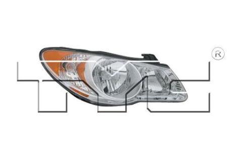 TYC NSF Right Side Halogen Headlight For Hyundai Elantra 2007-2009 Models