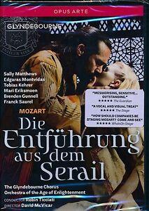 Mozart-Die-Entfuhrung-aus-dem-Serail-DVD-NEW-Glydebourne-Sally-Matthews