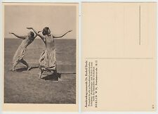 Ausdruckstanz Gymnastik Dr. Rudolf Bode Tanz New German Dance Girl c.1925