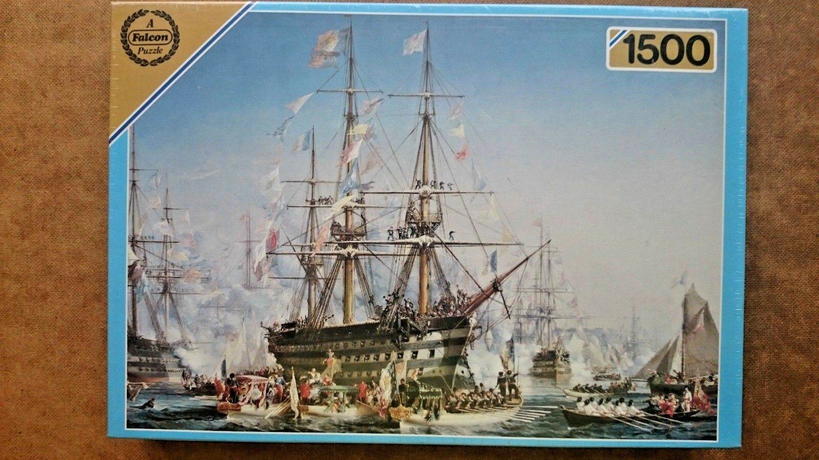Napoleon 3  Receiving Queen Victoria  1500 Piece Jigsaw Puzzle New and Sealed