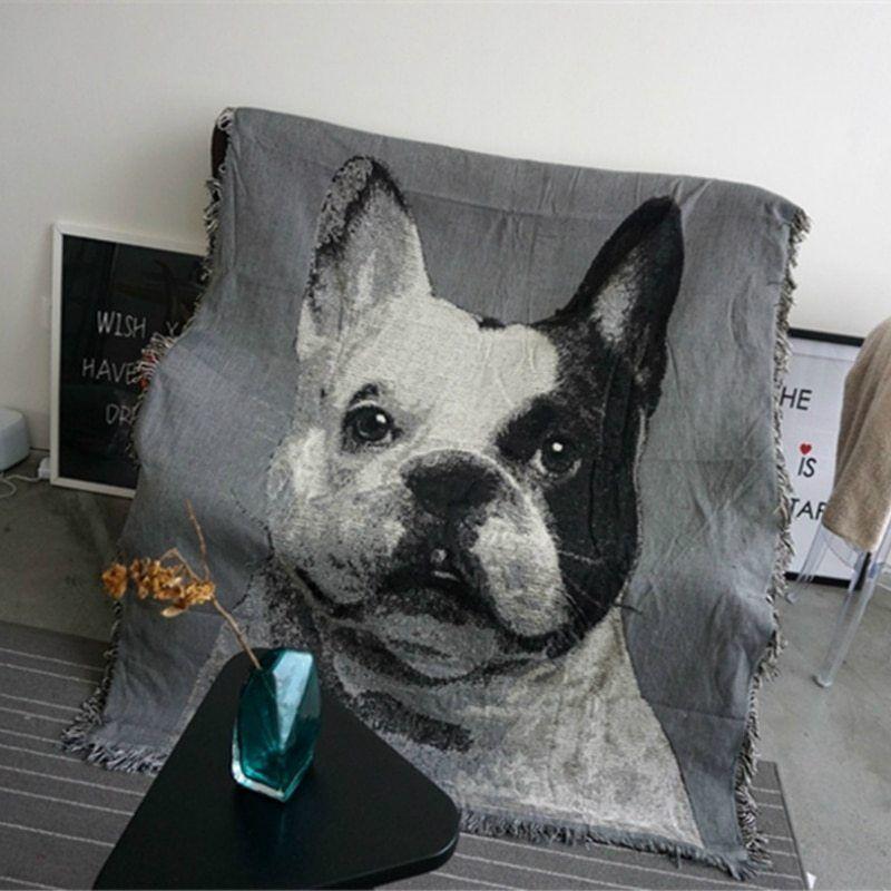 Bulldog Francese Divano Coperta Qualità Multi-funzionale Anti-skid Tappetini Pet