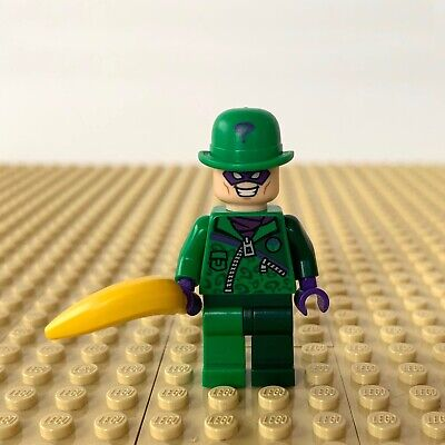 Lego The Riddler from Set 76012 Batman The Riddler Chase Super Heroes NEW sh088