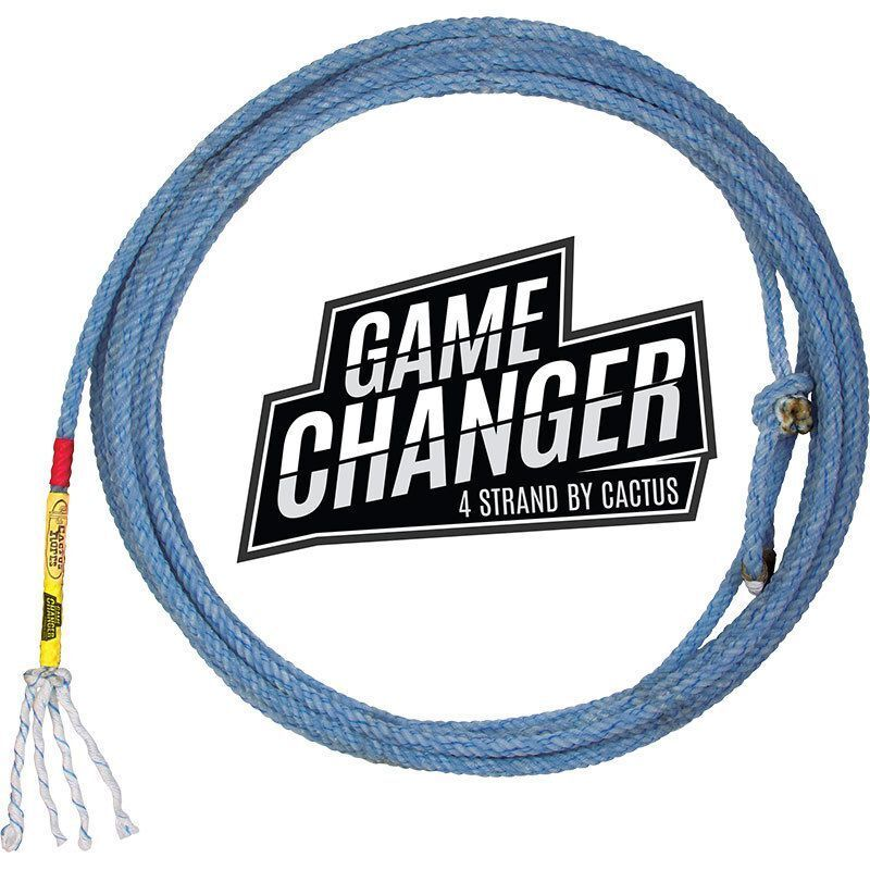 CACTUS ROPES GAME CHANGER TEAM ROPING HEEL ROPE 4 STRAND