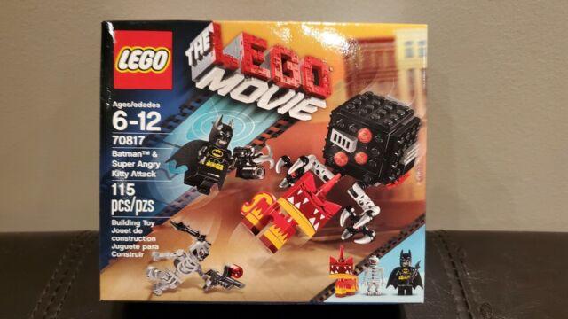 LEGO Batman & Super Angry Kitty Attack Set 70817