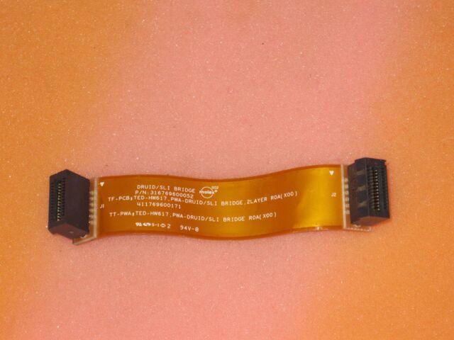 Dell Molex Druid HW617 SLI Bridge Cable Long 95mm Flexible 316769600052