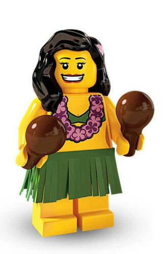 Unopened LEGO® SERIES 3-8803-Hula Dancer-minifigure #14 Sealed Foil Pouch