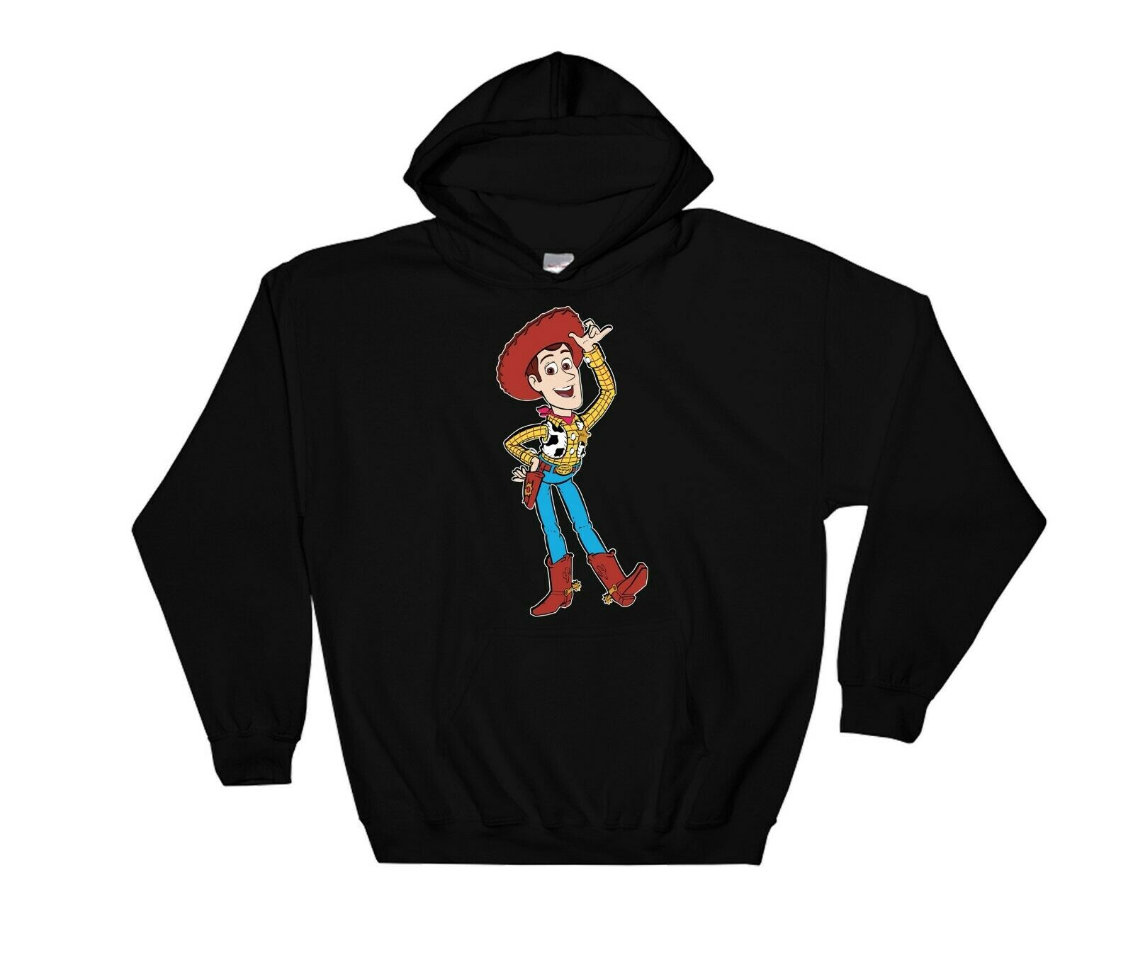 Toy Story Sheriff Woody Funny Hoodie Cool Gift Sweatshirt Jumper Pullover 4123