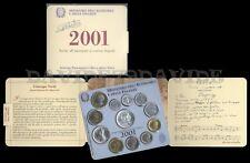 REPUBBLICA ITALIANA - SERIE DIVISIONALE ITALIA LIRE ANNO 2001 GIUSEPPE VERDI
