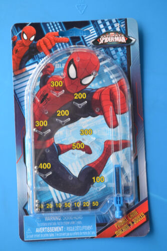 Mini Pinball Game Party Favor Travel size Spider Man TMNT Avengers
