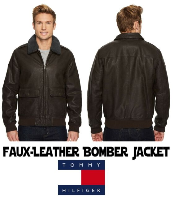 TOMMY HILFIGER Military Bomber Aviator Jacket Men's Small (S) New with Tags