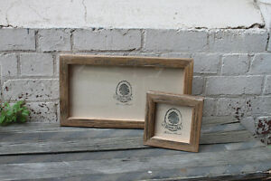 Recycled-Timber-Picture-Frame-Rustic-Photo-Frame-Hand-Made-8x10-A4-All-sizes