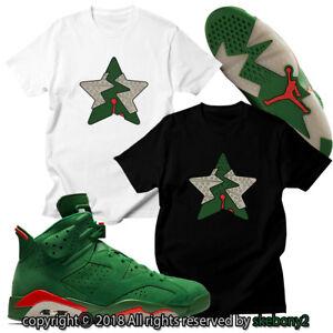 5de9a051a36 NEW CUSTOM T SHIRT Air Jordan 6 Gatorade matching TEE JD 6-8-10 ...