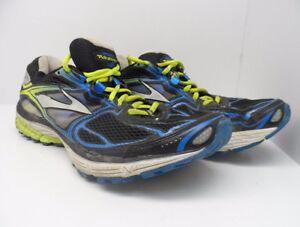 d8528ec0d7b Brooks Men  039 s Ravenna 5 Running Shoes Gray Black Lime Size 11.5M