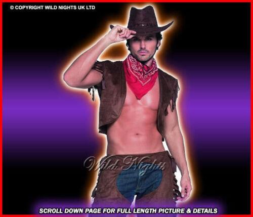 FANCY DRESS COSTUME # FEVER RIDE EM HIGH COWBOY MED//LG