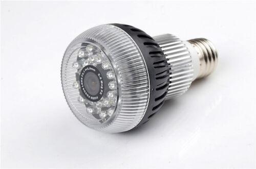 Mini Gadgets 1080P HD Motion Detect Wifi Light Bulb Hidden Nanny Camera