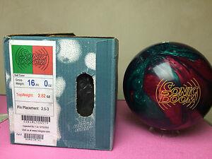 Roto-Grip-Sonic-Boom-Bowling-Ball-NIB-1st-Quality-16LB-Vintage-Rare