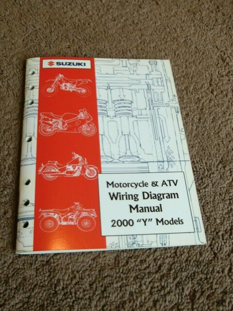 2000 Suzuki Motorcycle Atv Wiring Diagram Electrical