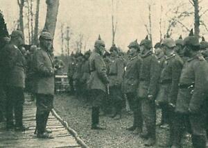 Prinz Leopold von Bayern - Frontbesuch - Erster Welkrieg - um 1915 - A 30-44