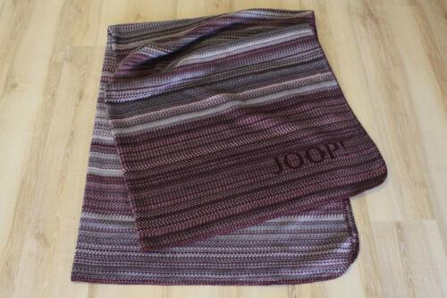 Joop Couverture Couverture Plaid Rouge Tissé 150x200cm 686688