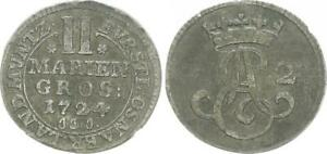 2 Marie Penny 1724 Old German States 46359