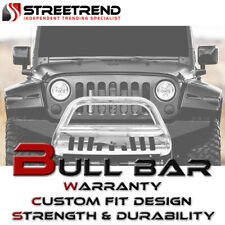 For 02 09 Dodge Ram Pickup Stainless Chrome Bull Bar Push Bumper Grille Guard Fits 2005 Dodge Ram 1500