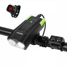 SHENKEY Bike Light USB Rechargeable Bicycle Front Light,2000mAh//1000 Lumens LED
