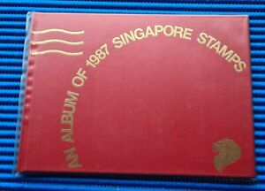 1987 An Album of 1987 Singapore Stamps