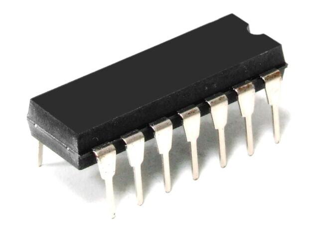 5 x MC74HC32AN OR-Gatter 4-fach 2 Eingänge von Motorola  DIP14