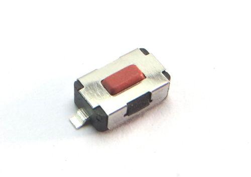 12223 5 x pulsador SMD botones switch 2 pin 6 x 3,7 x 2 mm mando coche cod