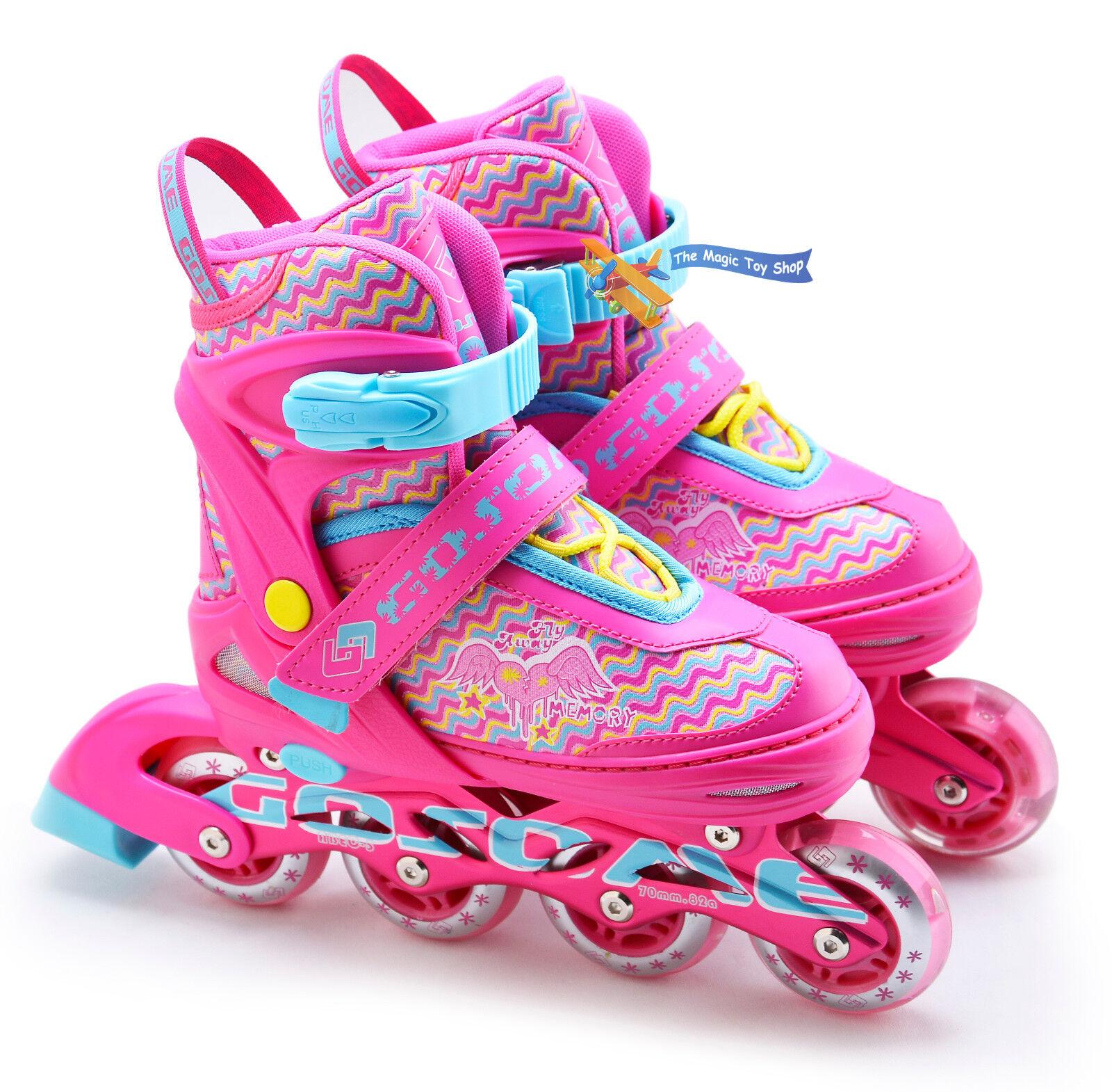 Kinder Jungen Mädchen 4 Räder Räder Räder Inlineskates Roller Blades Stiefel b0b682