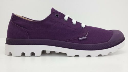 BRAND NEW IN BOX Palladium Blanc Ox Men Shoe Purple White 72885518