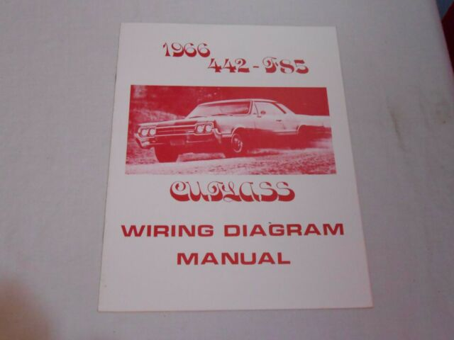 1966 442-F85-Cutlass wiring diagram manual | eBay